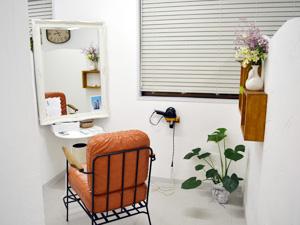 米沢市女性専用美容院ビューティーサロンオット/Beauty Salon ottoの美容室内の紹介